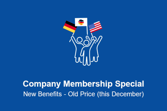 Company Membership Special December 2020
