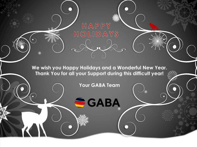 GABA Holiday Card 2020